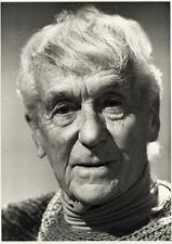 Photo Argentique Portrait de Jacques henri Lartigue Photographe Vers 1980