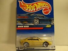 Hot Wheels #1093 Gold BMW 850i w/Lace Wheels