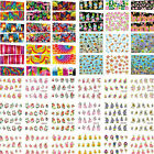 50Sheets/Lot PROMOTION Mix Styles Flower Water Transfer Nail Art Stickers Decals