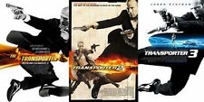 The Transporter Trilogy 1 2 3 ( 3 DVD SET, WS) Jason Statham NEW