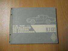 Teile Katalog Catalogue de pieces Renault R1131 Caravelle Floride (956ccm 44PS)