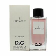 3 L'IMPERATRICE BY D&G POUR FEMME EAU DE TOILETTE SPRAY 100 ML/3.3 FL.OZ. (T)