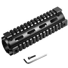 "Length 6.7"" Aluminum Carbine Drop In Quad Rail Handguard Mount No Gunsmithing"
