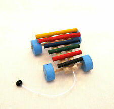Dollhouse Miniature ~ Toy Xylophone ~ Nursery ~ Play Toy ~