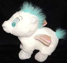 "Disney Baby Pegasus 8"" Tote A Tail Plush Sparkly Shiny Hercules Tale"