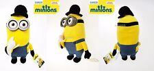 Peluche Film Minions 2015 Movie 33 cm 3D Banana Minion Vestiti British Originale