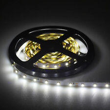 5M DC 12V 3528 SMD 300LEDS LED Flexible Fairy Strip Light Rope Lamp Cool White
