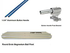 "Kraft Tool Magnesium Bull Float 36"" x 8"" with Ezy Tilt Bracket Handles"