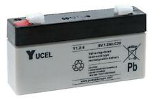 Batteries - Rechargeable - BATTERY LEAD ACID 6V 1.2AH