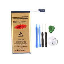 High Power 2680mAh Gold Replacement Battery for iPhone 5 + 6-in-1 Tools