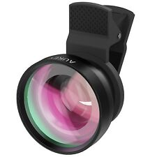 AUKEY Lens Kit Mini 2 in 1 Clip On with 0.45X Wide Angle + 15X Macro Lens For...