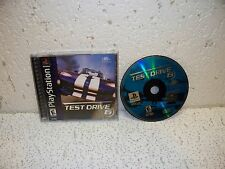 Test Drive 6 PS1 Sony PlayStation 1 Video Game Out of Print