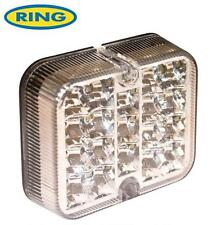 12v White LED Reversing Light Lamp Unit By Ring E Approved Reverse Car Van Truck