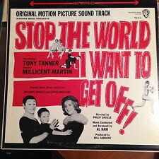Stop The World I Want To Get Off-LP-Warner Bros-VG+