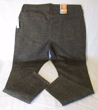 Old Navy The Rock Star Size 18 Super Skinny Fall Olive Print