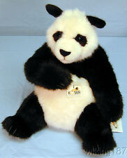 KOSEN Made in Germany NEW Large Sitting Black & White Panda Bear Plush Toy