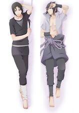 Naruto Dakimakura Itachi Sasuke Uchiha Anime Hugging Body Pillow Case Cover