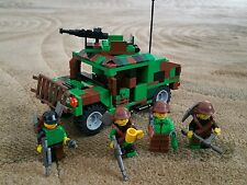 LEGO Hummer Vehicle moc - army military camouflage  - Custom minifigures