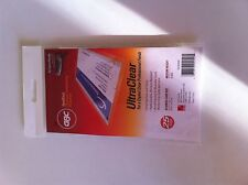 5mil GBC HeatSeal Ultra Clear Business Card Pouches New