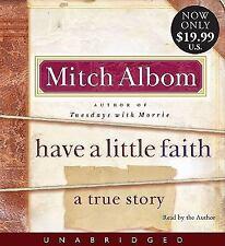 Have a Little Faith by Mitch Albom  Unabridged 4 CDS Brand New