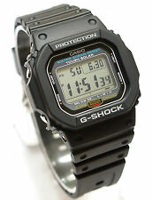 CASIO G-5600E-1 G-SHOCK TOUGH SOLAR WATCH Black 100% Original Brand New