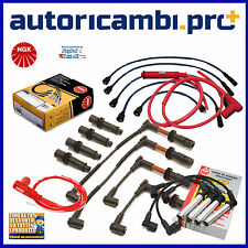 RC-FT604 RCFT604 KIT CAVI CANDELA KIT ACCENSIONE NGK FIAT PANDA 900 29KW