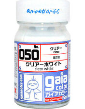 GAIA COLOR 050 Clear White GUNDAM PAINT 15ml