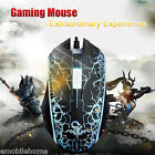 Professional Athletics Optical 1200 DPI Wired Gaming Mouse Seven-color Backlight