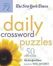 Daily Crossword Puzzles Vol. 72 : 50 Mid-Level Puzzles from the Pages of the...