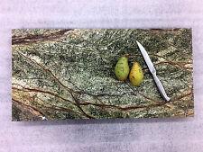 Schneidbrett Buffet Aufschnittplatte Häppchenplatte Naturstein Marmorplatte grün
