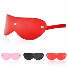 Red Sexy Sex Toy Elastic Blindfold Eye Mask Adult Game Shade Cover Sleep Aid 10