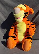 Disney Tigger Talking Plush Toy Stuffed Animal Fischer Price WATCH THE VIDEO 22""