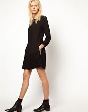 Girl. by Band of Outsiders Lace Trim Shift Dress - Size Small