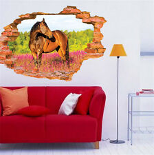 3D Ferghana Horse Removable Wall Sticker/Decal Home/Rome Decoration Brand New