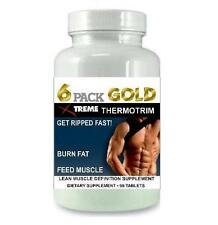 6 Pack Fat Burner Lean Muscle Mass Growth Bodybuilding Burn Fat X Ripped Abs