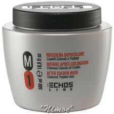M1 After Color Mask 500ml Echos Line ® Coloured Treated Hair Maschera Colorati