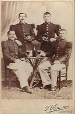 Photo ancienne soldats chasseurs 64ème régiment avant 1914  F. Bouvron Ancenis