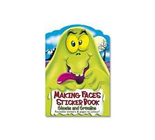 Holland Publishing MF1 Making Faces Reusable Ghosts and Gremlins Sticker Book