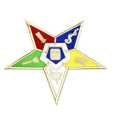 OES 10 inch Shield Emblem Embroidered Patch - Eastern Star