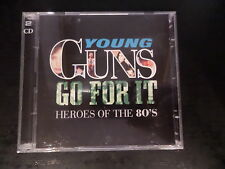 CD DOUBLE ALBUM - Various Artists - Young Guns Go for It (Heroes of the 80's