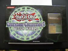 YU-GI-OH SHONEN JUMP LEGENDARY COLLECTION3 YUGI'S WORLD OPENED BOX W/GAME MAT