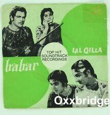 MOHD RAFI Babar/Lal Qilla RARE 1962 BOLLYWOOD India Hindi OST Sudha Malhotra EP