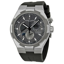Vacheron Constantin Overseas Dual Time Automatic Grey Dial Mens Watch