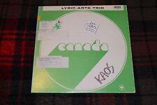 Lyric Arts Trio~Canada~Radio Canada International~Classical~IMPORT~FAST SHIPPING