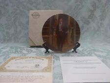 """Knowles Gone With the Wind Collector's Plate - """"Rhett"""""""