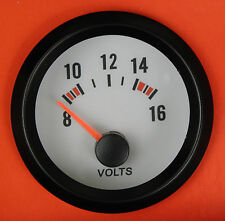 S3 52mm Volt Meter/Voltage gauge Blue bk-light Skyline Gtst GTT GTR Pulsar GtiR
