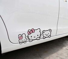 Fun car decal/sticker of Hello Kitty and her Friends for Car/ Window