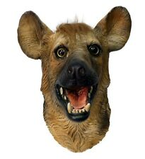 Hyena Animal Mask Wild Dog Overhead Latex Zoo Fancy Dress Party Halloween Wolf