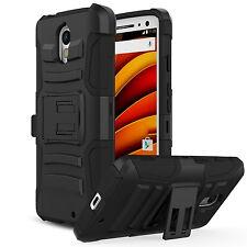 ZTE Grand X4 Z956 Phone Case ,  Hard & Soft Hybrid Defender Kickstand Cover