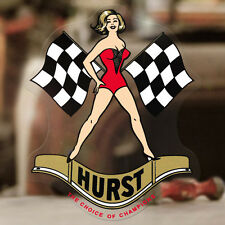 Hurst Pinup Aufkleber Sticker Autocollante Hot Rod Shifter Old School Pin up